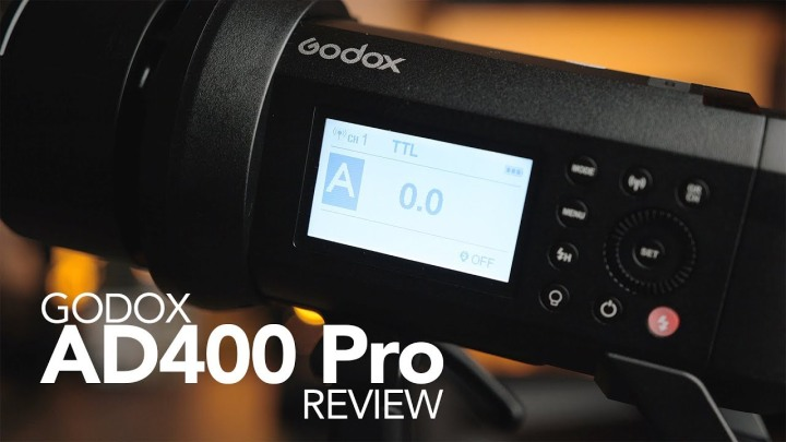 Need a New Flash? Don't miss the AD400 Pro!