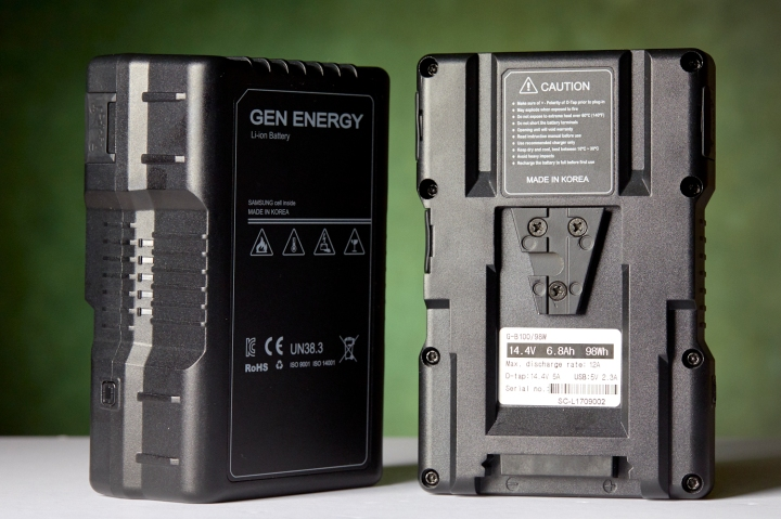 Gen Energy V-Mount Batteries