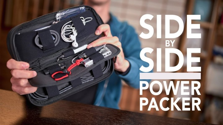 Get Organized with this Side by Side Power Packer