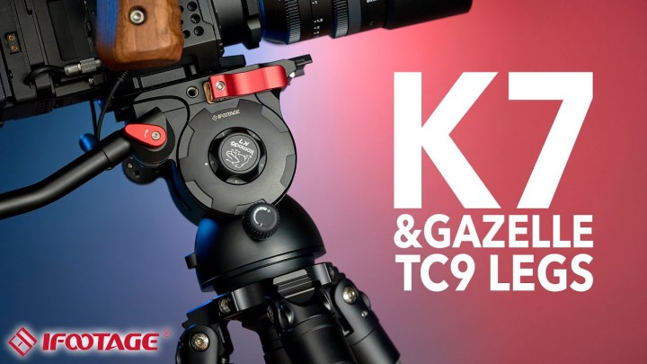 iFootage K7 Video Head (& Fastbowl TC9 Legs)