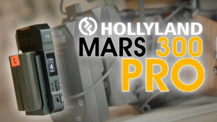 Hollyland Mars 300 PRO Wireless Video Kit