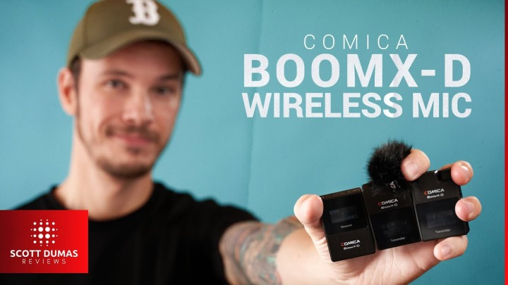 Compact Dual Wireless Mic System | Comica BoomX-D D2