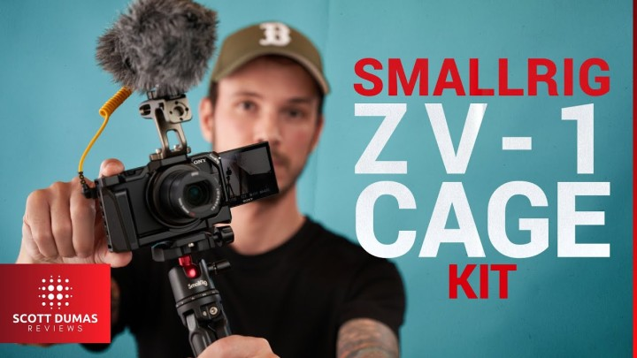 Sony ZV-1 Cage and Accessories fromSmallrig