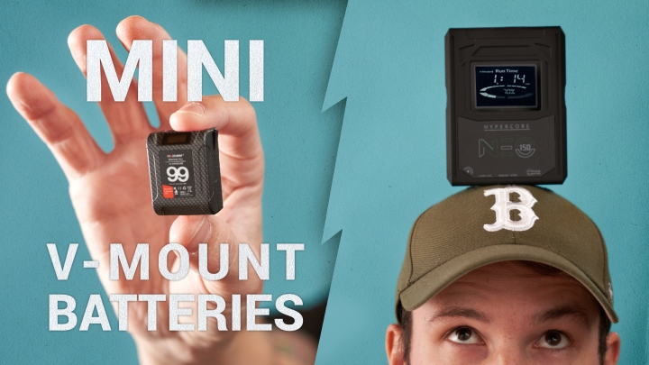 Some Great Mini V-Mount Battery Choices