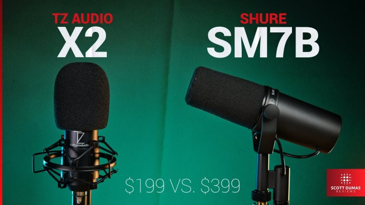 TZ Audio Stellar X2 | Better than the Shure SM7B?